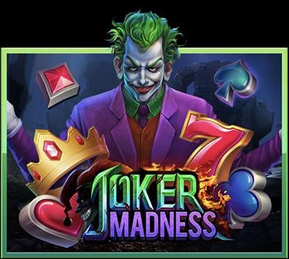 ทดลองเล่นฟรี เกมสล็อต SLOTXO JOKER MADNESS